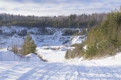 Nueva lente de la mina Fotografía de archivo