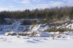 Nueva lente de la mina Imagen de archivo libre de regalías