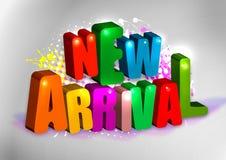 Nueva llegada Foto de archivo libre de regalías