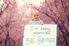 Nueva llegada del bebé Fotografía de archivo libre de regalías