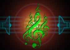Nueva música Imágenes de archivo libres de regalías