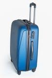 Nueva maleta moderna del carbono Fotografía de archivo libre de regalías