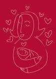 Nueva mama Fotos de archivo libres de regalías
