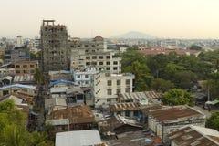 Nueva Mandalay vieja Imagen de archivo libre de regalías