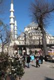 Nueva mezquita en Estambul fotografía de archivo libre de regalías