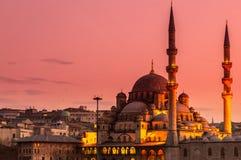 Nueva mezquita Estambul Foto de archivo libre de regalías