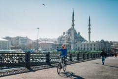 Nueva mezquita (Yeni Cami) fotografía de archivo libre de regalías
