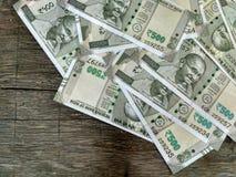Nueva moneda quinientos de la India Foto de archivo libre de regalías