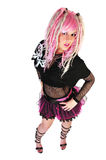 Nueva muchacha punky Imagen de archivo libre de regalías