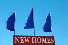 Nueva muestra de los hogares Imagen de archivo