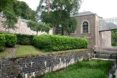 Nueva opinión de la ciudad de Lanark Imagen de archivo libre de regalías
