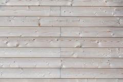 Nueva pared de madera Imágenes de archivo libres de regalías