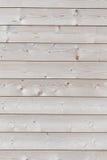 Nueva pared de madera Foto de archivo libre de regalías