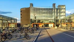 Nueva parte del ferrocarril central de Malmö Imágenes de archivo libres de regalías