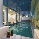 Nueva piscina Fotos de archivo
