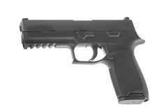 Nueva pistola de los militares de los E.E.U.U. Fotografía de archivo