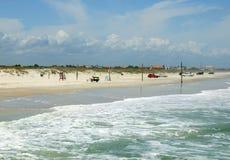 Nueva playa de Smyrna Fotografía de archivo