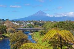 Nueva Plymouth, Nueva Zelandia imagen de archivo