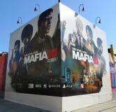 Nueva publicidad del videojuego de la mafia III en Brooklyn Foto de archivo
