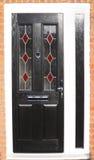 Nueva puerta principal Fotos de archivo