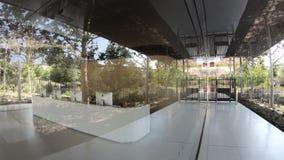 Nueva recepción de las oficinas de Apple metrajes