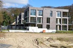 Nueva residencia de la vecindad de los hogares en Alemania 2015 Imagen de archivo libre de regalías