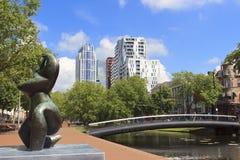 Nueva Rotterdam foto de archivo libre de regalías
