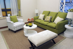 Nueva sala de estar Fotos de archivo libres de regalías