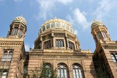 Nueva sinagoga de Berlín Imagen de archivo