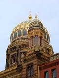 Nueva sinagoga en Berlín imagenes de archivo
