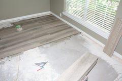 Nueva teja de suelo Fotos de archivo