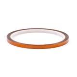 Nueva termal pegajosa adhesiva redonda del rollo de la cinta del aislamiento Fotografía de archivo