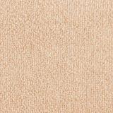 Nueva textura beige de la alfombra Fotografía de archivo