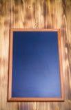 Nueva textura quemada de madera ligera con el tablero de tiza para el fondo Imagen de archivo