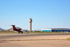 Nueva torre de control en Tucson fotografía de archivo