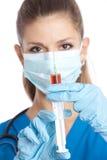 Nueva vacuna Foto de archivo libre de regalías