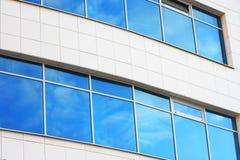 Nueva ventana azul Imágenes de archivo libres de regalías