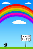 Nueva vida Imagen de archivo