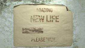 Nueva vida cargada libre illustration