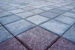 nueva visión superior de pavimentación Fotos de archivo