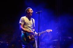 Nueva Vulcano (band) in concert at Vida Festival Stock Photography