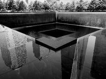 Nueva York al revés Imagen de archivo libre de regalías