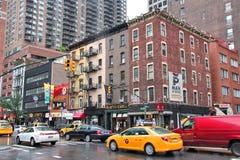 Nueva York, avenida ocho Imágenes de archivo libres de regalías