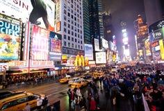 Nueva York, Broadway imágenes de archivo libres de regalías