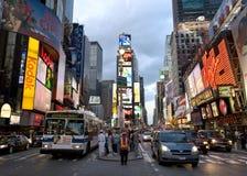 Nueva York Broadway, fotografía de archivo libre de regalías