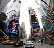 Nueva York Broadway imagen de archivo libre de regalías