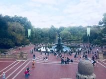 Nueva York Central Park foto de archivo