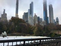 Nueva York Central Park fotografía de archivo