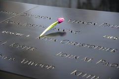 9/11 Nueva York conmemorativa Imagen de archivo libre de regalías