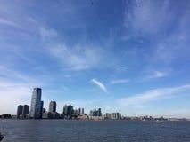 Nueva York dal mare Fotografie Stock